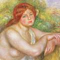 Bust Of Nude, 1909  by Pierre Auguste Renoir