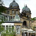 Buxton Opera House Through The Gardens by Scott Lyons