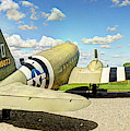 C-47 Dakota Rear View by Weston Westmoreland