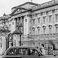 Cab Outside Buckigham Palace  by John McGraw