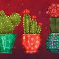 Cactus Friends II by Shari Warren