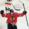 Calgary Flames V Chicago Blackhawks by Jonathan Daniel