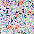 California Rose Garden by Wonju Hulse