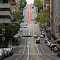 California Street San Francisco Financial District R76 by Wingsdomain Art and Photography
