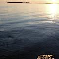 Calm Bay Island Light by Dylan Punke