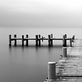 Calm Scene In Black And White With by Sascha Corti