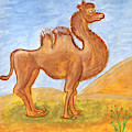 Camel by Dobrotsvet Art