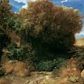 Campagna Landscape 1858 by Bocklin Arnold