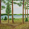 Camping At The Lake by Marsha McAlexander