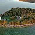 Cana Island Aerial by Adam Romanowicz