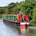 Canal Boat by Terri Waters