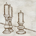 Candlesticks by Lois Bryan