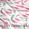 Candy Cane Swirls - Merry Christmas by Helen Northcott