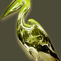 Candy Lime Green Pelican by Marvin Blaine