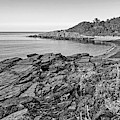 Canoe Beach Nahant Ma Lodge Park Black And White by Toby McGuire