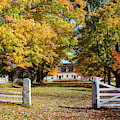 Canterbury Shaker Village Meeting House by Jeff Folger