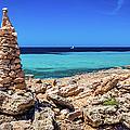 Cap De Ses Salines, Mallorca, Spain by Lyl Dil Creations