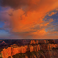 Cape Royale Storm North Rim Grand Canyon National Park by Dave Welling