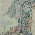 Capri, 1897  by Childe Hassam
