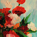 Capricious Carnations by Patricia Brintle
