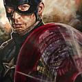 Captain America by Joel Tesch