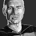 Captain Jean-luc Picard by Bill Richards
