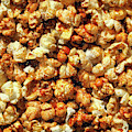 Caramel Corn Behind Glass by Bill Swartwout Photography