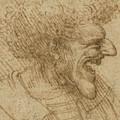 Caricature Of A Man With Bushy Hair by Leonardo Da Vinci