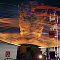 Carnival Rides Motion Blur by Steve Gadomski