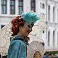 Carnival Scene - Venice by Georgia Fowler