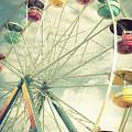 Carolina Beach Ferris Wheel by Anthony Doudt