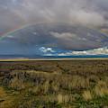 Carrizo Plain Rainbow by Matthew Irvin