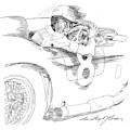 Carroll Shelby Maserati 450s by David Lloyd Glover
