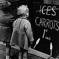 Carrot Lollies by Fox Photos