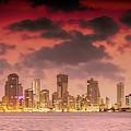Cartagena At Dusk by Max Huber