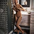 Cassandra Nude Female Bath by Gordon Punt