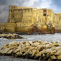 Castel Dell'ovo, Bay Of Naples by Jacqui Boonstra