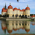 Castle Moritzburg  by Christiane Schulze Art And Photography
