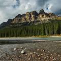 Castle Mountain by Steven Clevidence