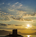 Castle Stalker In Scotland by Arterra Picture Library