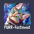 Cat Lover's Purr-fectionist T-shirt by Jody Wright