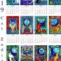 Cat Zodiacs Calendar by Dora Hathazi Mendes