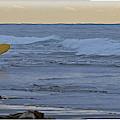 Catching The Surf by Darrel Giesbrecht