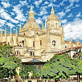 Catedral De Segovia by Anthony Dezenzio
