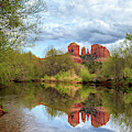 Cathedral Rock Reflection by James Eddy