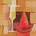 Cava And Melon by Lutz Baar