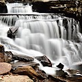 Cayuga Falls by Larry Ricker