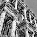 Celcus Library At Ephesus by Lois Bryan