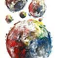 Celestials - Interstellar Iv by Joel Tesch