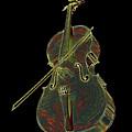 Cello Music Instrument Professional Musician Designed by Super Katillz
